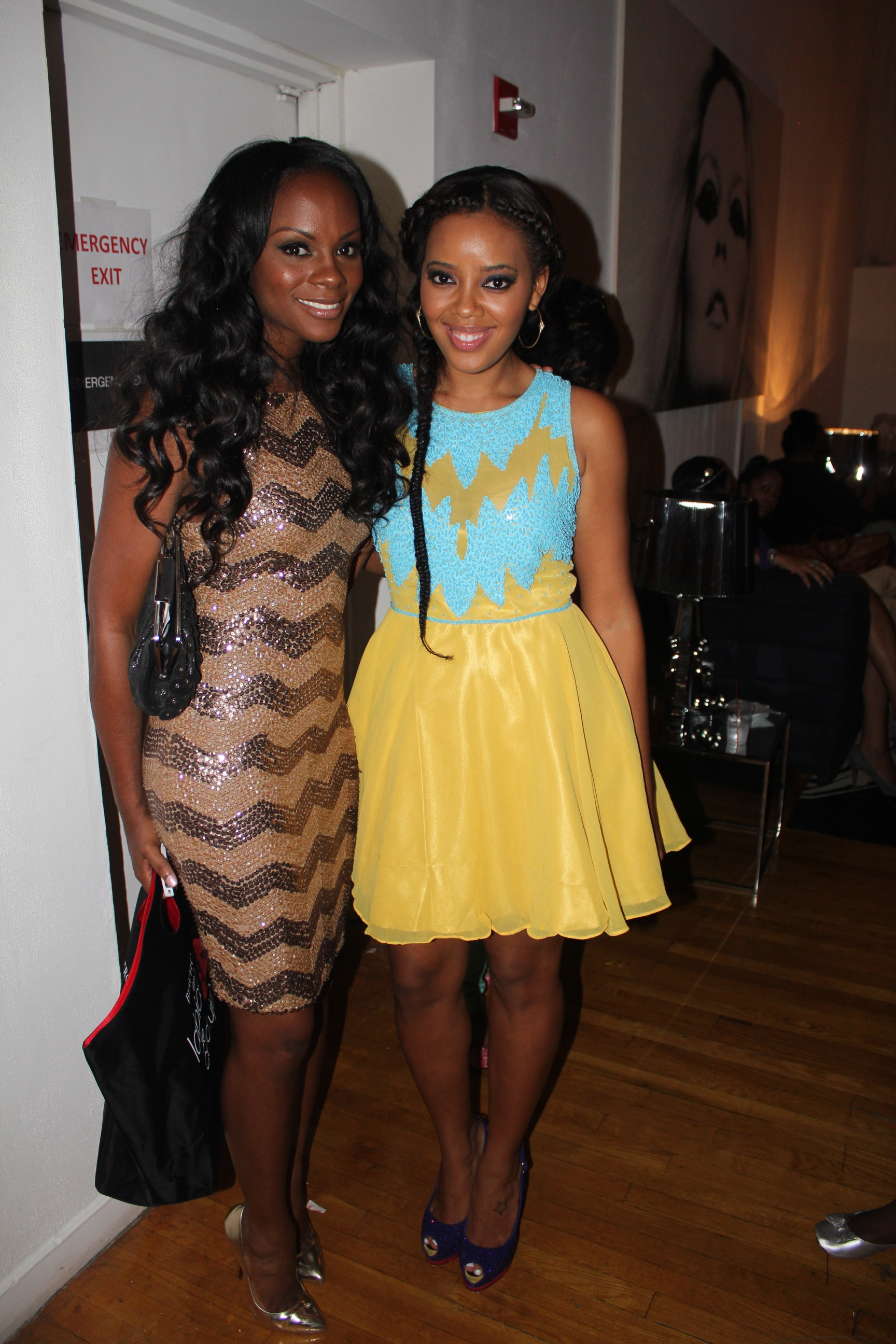 Tika Sumpter & Angela Simmons